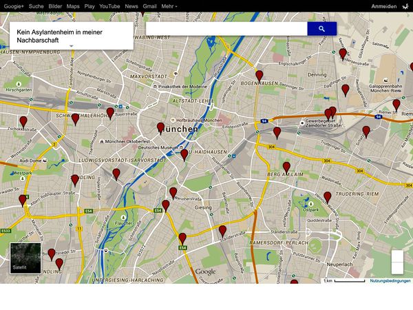 Map Of Germany Google Maps.Google Maps Censorship How To Defeat Refugee Housing Map Deletion